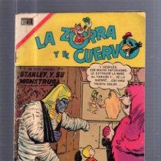 Tebeos: TEBEO LA ZORRA Y EL CUERVO. Nº 203. STANLEY Y SU MONSTRUO. Lote 54645913