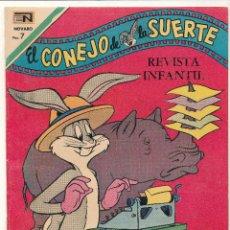 BDs: EL CONEJO DE LA SUERTE Nº 342. NOVARO 1970.. Lote 54746496