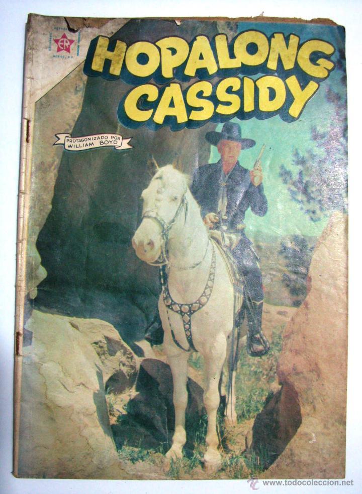 ANTIGUA REVISTA COWBOY HOPALONG CASSIDY EDICIONES RECREATIVAS NOVARO MEXICO AÑO 1962 (Tebeos y Comics - Novaro - Hopalong Cassidy)