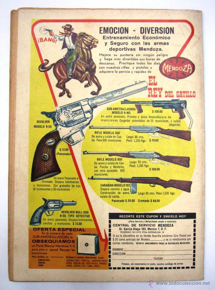 Tebeos: ANTIGUA REVISTA EPOPEYA LA CONQUISTA DEL COSMOS ER NOVARO MEXICO AÑO 1962 - Foto 3 - 54787108