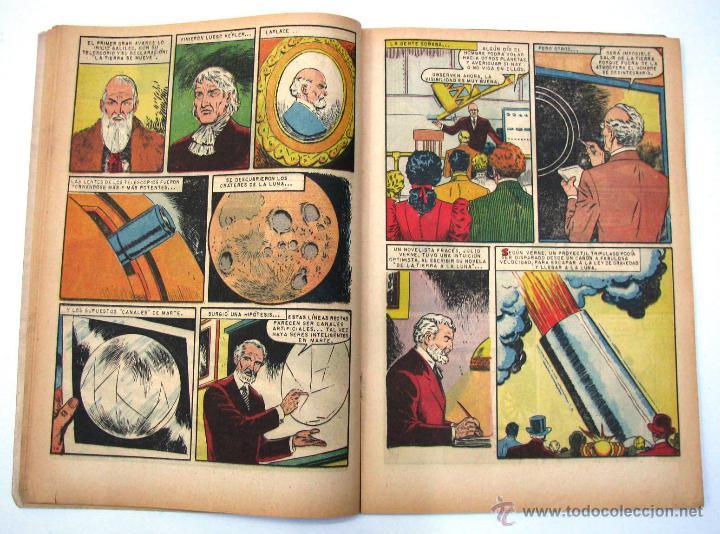 Tebeos: ANTIGUA REVISTA EPOPEYA LA CONQUISTA DEL COSMOS ER NOVARO MEXICO AÑO 1962 - Foto 10 - 54787108