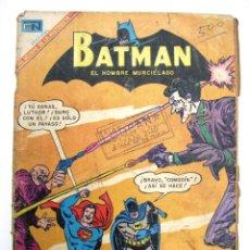 Tebeos: ANTIGUA REVISTA COMIC NOVARO MEXICO BATMAN SUPERMAN EL DUELO DE LOS MALHECHORES AÑO 1969. Lote 54848460