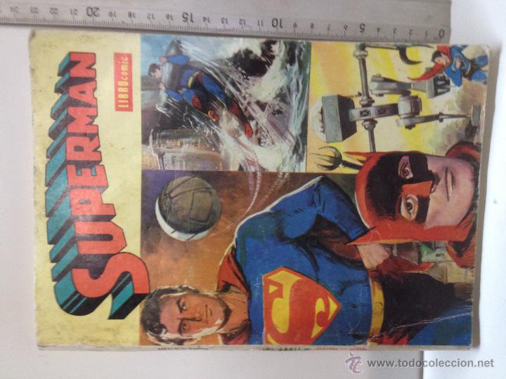 SUPERMAN LIBRO COMIC TOMO XXXIII (Tebeos y Comics - Novaro - Superman)
