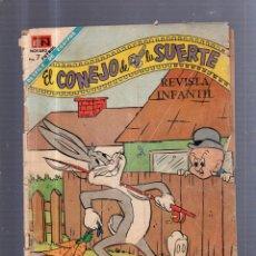 Tebeos: TEBEO EL CONEJO DE LA SUERTE. Nº 287. MAYO 1968. REVISTA INFANTIL. Lote 55044173