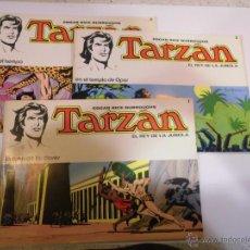 Tebeos: LOTE 6 COMICS TARZAN - NUMS 1 AL 6 - EDITORIAL NOVARO - 1976. Lote 55080351