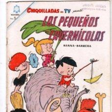 Tebeos: CHIQUILLADAS Nº 169- 1965 - LOS PEQUEÑOS CAVERNICOLAS - HANNA BARBERA. Lote 55342436