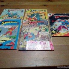 Tebeos: CINCO CÓMICS DE SUPERMAN. Lote 55361238