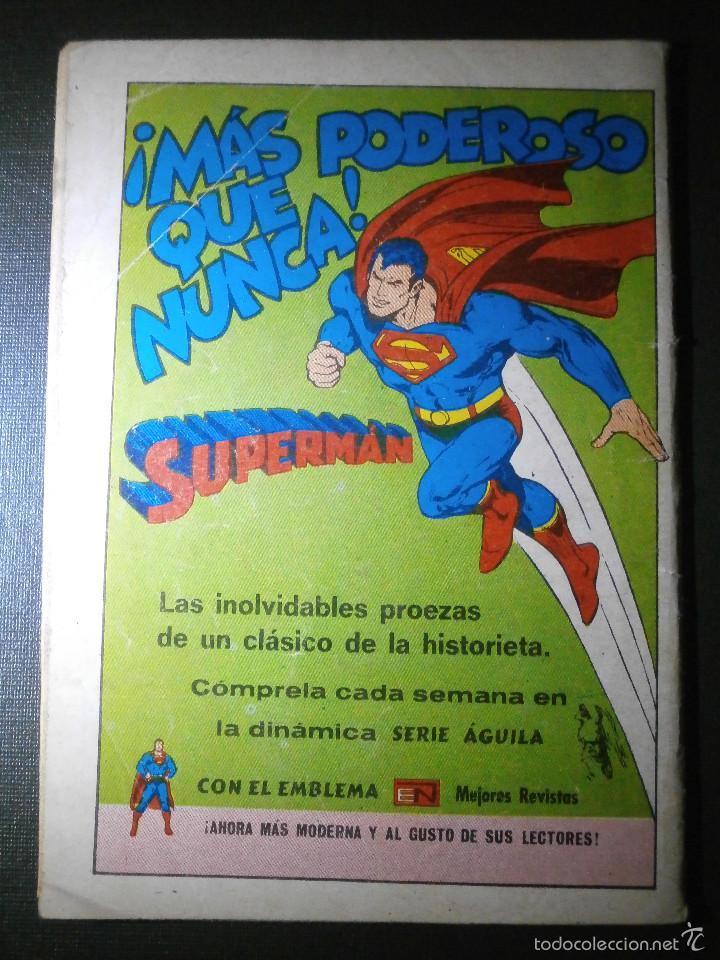 Tebeos: Comic - SERIE AGUILA: KORAK EL HIJO DE TARZAN, EDITORIAL NOVARO, AÑO III, Nº 2-70, AÑO 1978 - Foto 2 - 55865156