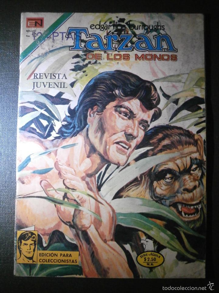 COMIC - SERIE AGUILA: TARZAN DE LOS MONOS, EDITORIAL NOVARO, AÑO XXV, Nº 466, AÑO 1975 (Tebeos y Comics - Novaro - Tarzán)
