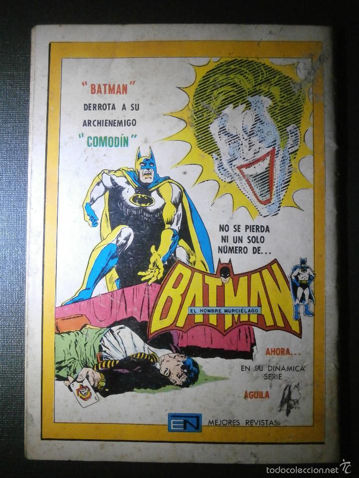 Tebeos: Comic - SERIE AGUILA: TARZAN DE LOS MONOS, EDITORIAL NOVARO, AÑO XXV, Nº 466, AÑO 1975 - Foto 2 - 55865165