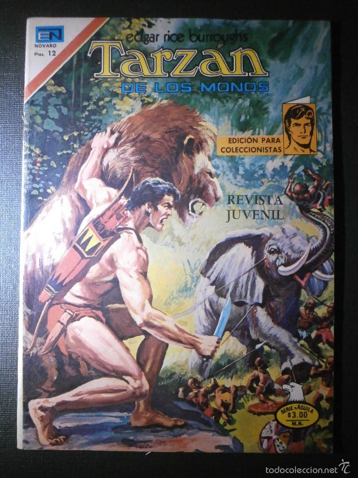 COMIC - SERIE AGUILA: TARZAN DE LOS MONOS, EDITORIAL NOVARO, AÑO XXVI, Nº 2-513, AÑO 1976 (Tebeos y Comics - Novaro - Tarzán)