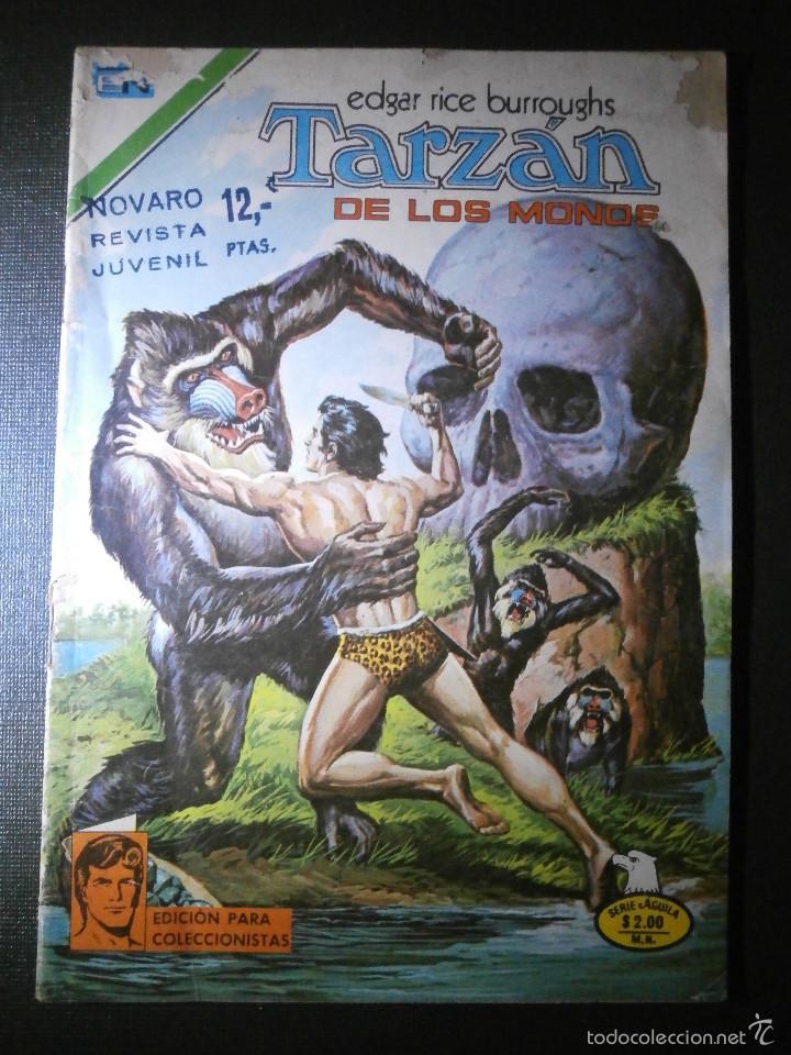 COMIC - SERIE AGUILA: TARZAN DE LOS MONOS, EDITORIAL NOVARO, AÑO XXV, Nº 454, AÑO 1975 (Tebeos y Comics - Novaro - Tarzán)