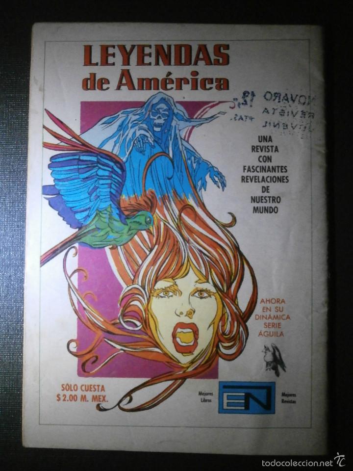 Tebeos: Comic - SERIE AGUILA: TARZAN DE LOS MONOS, EDITORIAL NOVARO, AÑO XXV, Nº 454, AÑO 1975 - Foto 2 - 55865175
