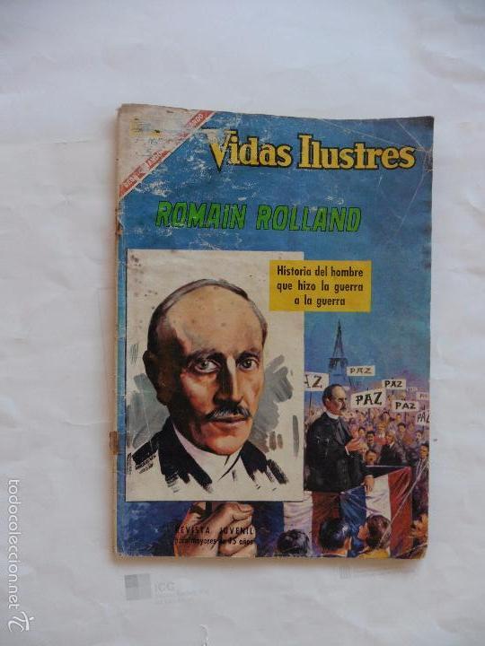 VIDAS ILUSTRES Nº 153 NAVARO ORIGINAL (Tebeos y Comics - Novaro - Vidas ilustres)