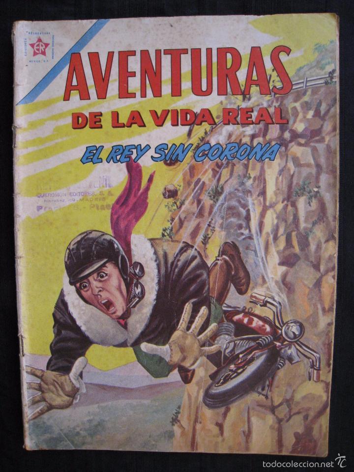 Tebeos: AVENTURAS DE LA VIDA REAL - Nº 75 - EL REY SIN CORONA - EDITORIAL NOVARO 1962. - Foto 2 - 55996455
