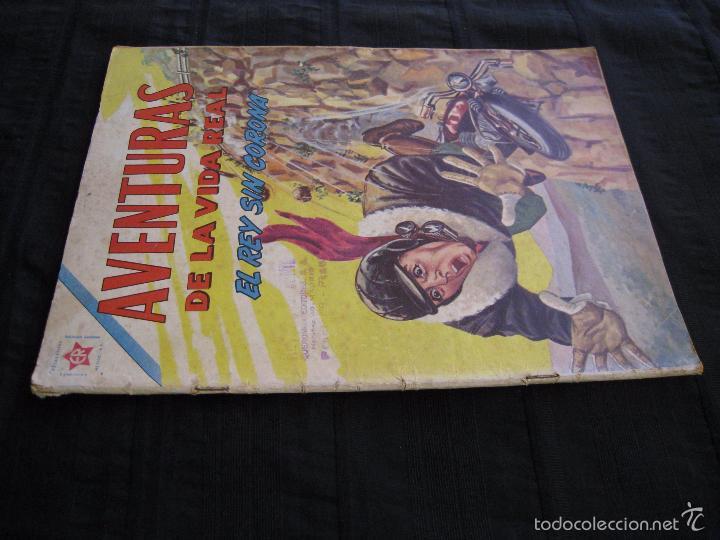 Tebeos: AVENTURAS DE LA VIDA REAL - Nº 75 - EL REY SIN CORONA - EDITORIAL NOVARO 1962. - Foto 3 - 55996455