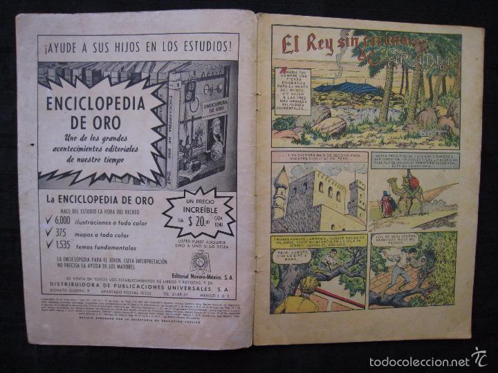 Tebeos: AVENTURAS DE LA VIDA REAL - Nº 75 - EL REY SIN CORONA - EDITORIAL NOVARO 1962. - Foto 4 - 55996455