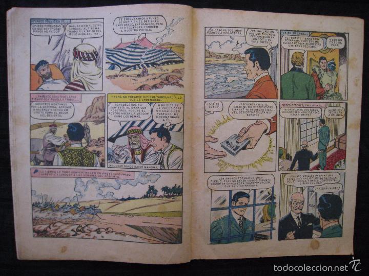 Tebeos: AVENTURAS DE LA VIDA REAL - Nº 75 - EL REY SIN CORONA - EDITORIAL NOVARO 1962. - Foto 5 - 55996455