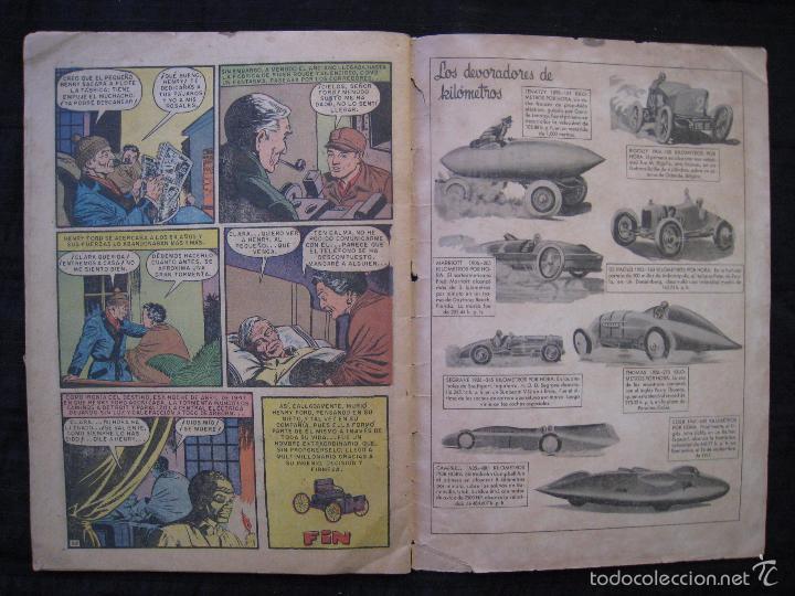 Tebeos: VIDAS ILUSTRES - Nº 32 - HISTORIA DE HENRY FORD - ED, NOVARO 1958. - Foto 6 - 56028687