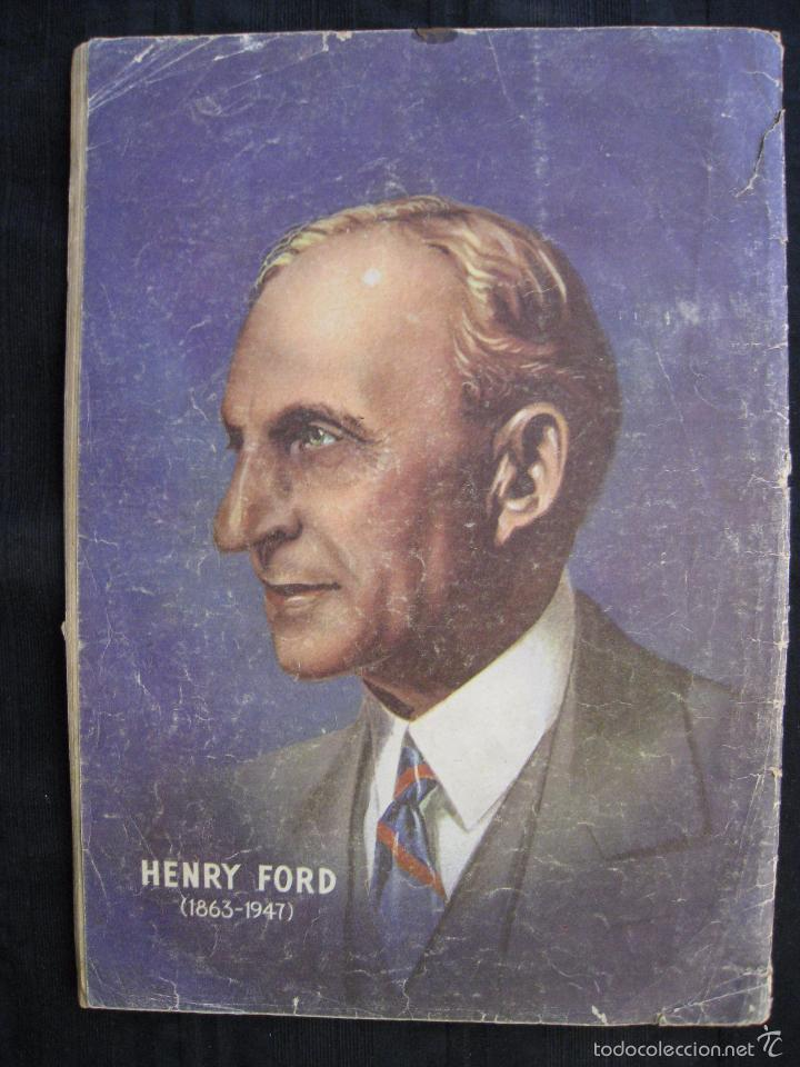 Tebeos: VIDAS ILUSTRES - Nº 32 - HISTORIA DE HENRY FORD - ED, NOVARO 1958. - Foto 7 - 56028687