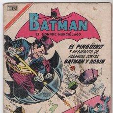 Tebeos: BATMAN # 403 NOVARO 1967 EL PINGUINO REGRESA DEL FUTURO BUEN ESTADO. Lote 56193234