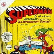 Tebeos: SUPERMAN NOVARO EDITORIAL NOVARO Y OTRAS COLECCIONES// REIMPRESIONES DE EXCELENTE CALIDAD.. Lote 169231744