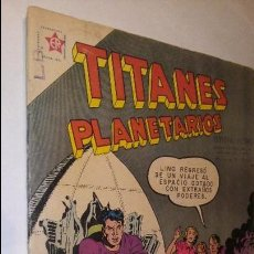 Tebeos: LA100 COMIC ESPACIO SPACE TITANES PLANETARIOS AÑOS 60 LINO EL INVENCIBLE. Lote 56261392