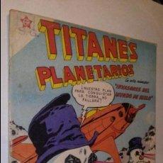 Tebeos: LA100 COMIC ESPACIO SPACE TITANES PLANETARIOS AÑO 1959 INVASORES DEL MUNDO DEL HIELO. Lote 56261497