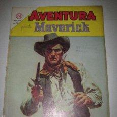 Tebeos: AVENTURA - MAVERICK - NUMERO 329. Lote 56283678