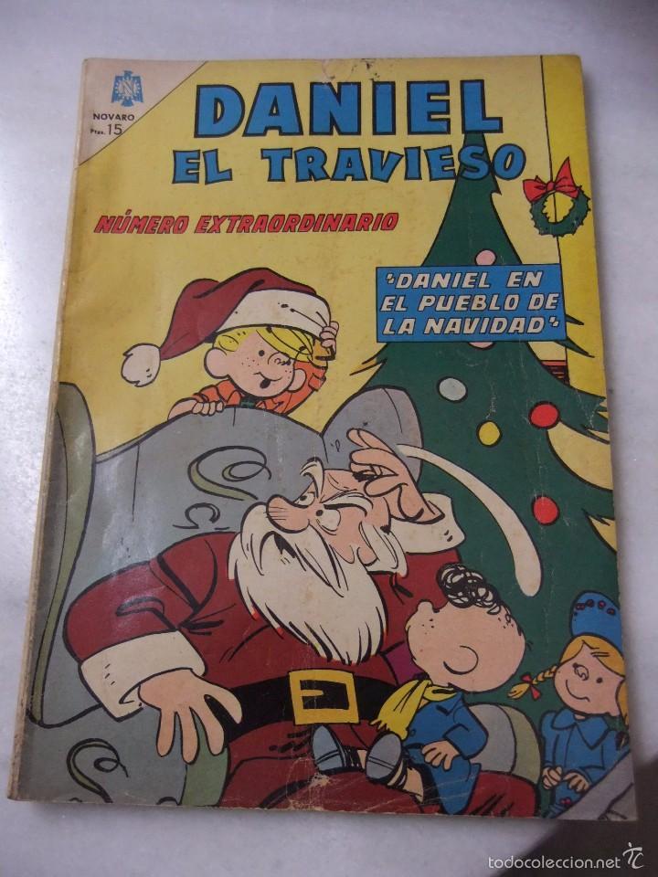DANIEL EL TRAVIESO Nº EXTRAORDINARIO ENERO DE 1966 EDITORIAL NOVARO (Tebeos y Comics - Novaro - Otros)