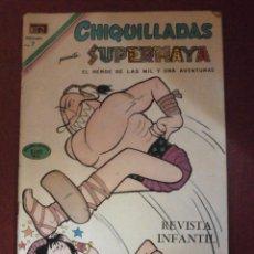 Tebeos: COMIC - CHIQUILLADAS SUPERMAYA - Nº 280 .- 29 DE MAYO DE 1970 -. Lote 56401498