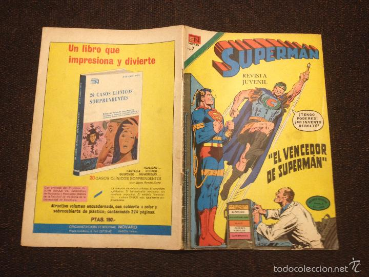 SUPERMAN Nº 891 - 1973 - EDITORIAL NOVARO - BUEN ESTADO (Tebeos y Comics - Novaro - Superman)