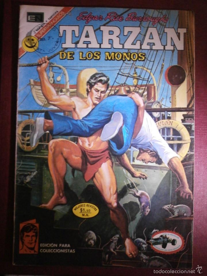 COMIC - TARZAN DE LOS MONOS - NUM 293 - NOVARO - 1972 (Tebeos y Comics - Novaro - Tarzán)