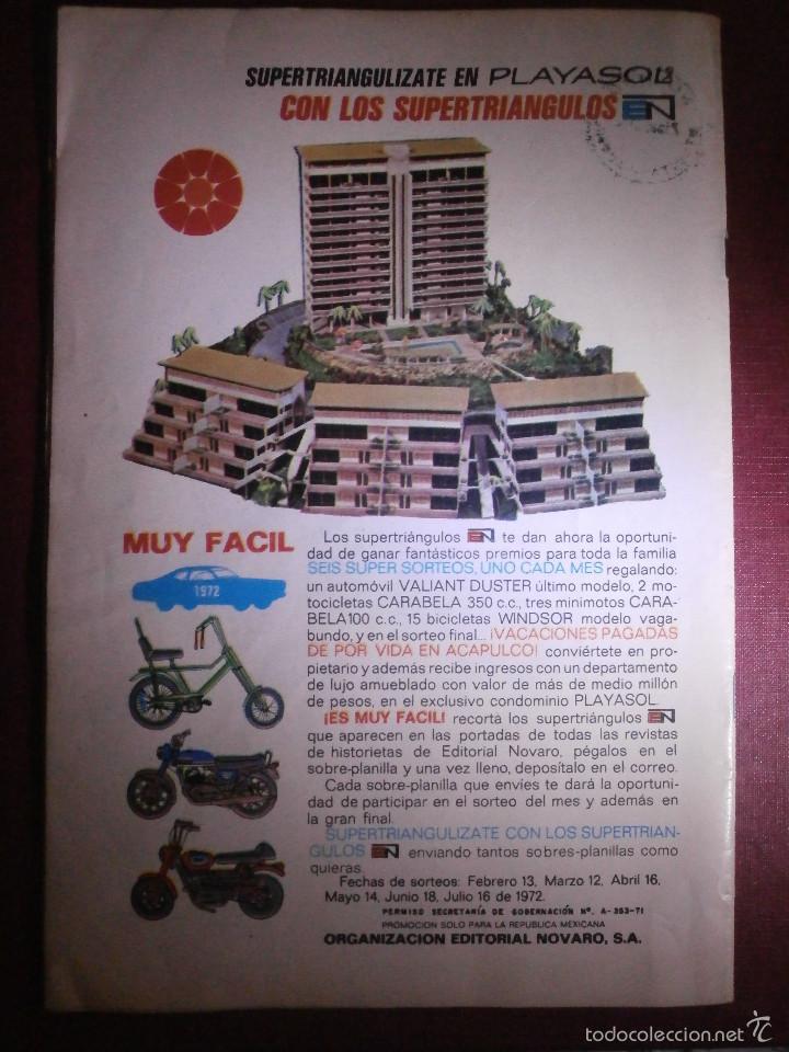 Tebeos: Comic - TARZAN DE LOS MONOS - NUM 293 - NOVARO - 1972 - Foto 2 - 56643502