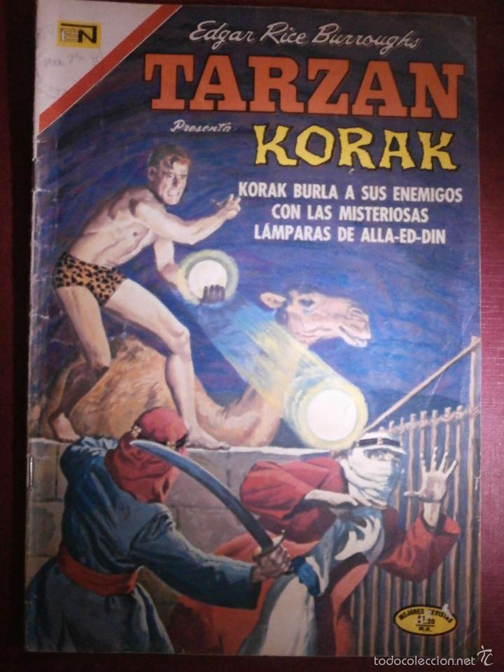 COMIC - TARZAN DE LOS MONOS - NUM 279 - NOVARO - 1971 (Tebeos y Comics - Novaro - Tarzán)