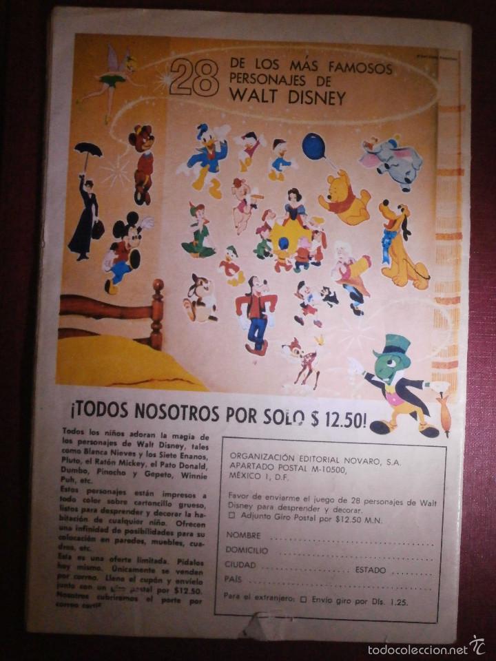 Tebeos: Comic - TARZAN DE LOS MONOS - NUM 279 - NOVARO - 1971 - Foto 2 - 56643507