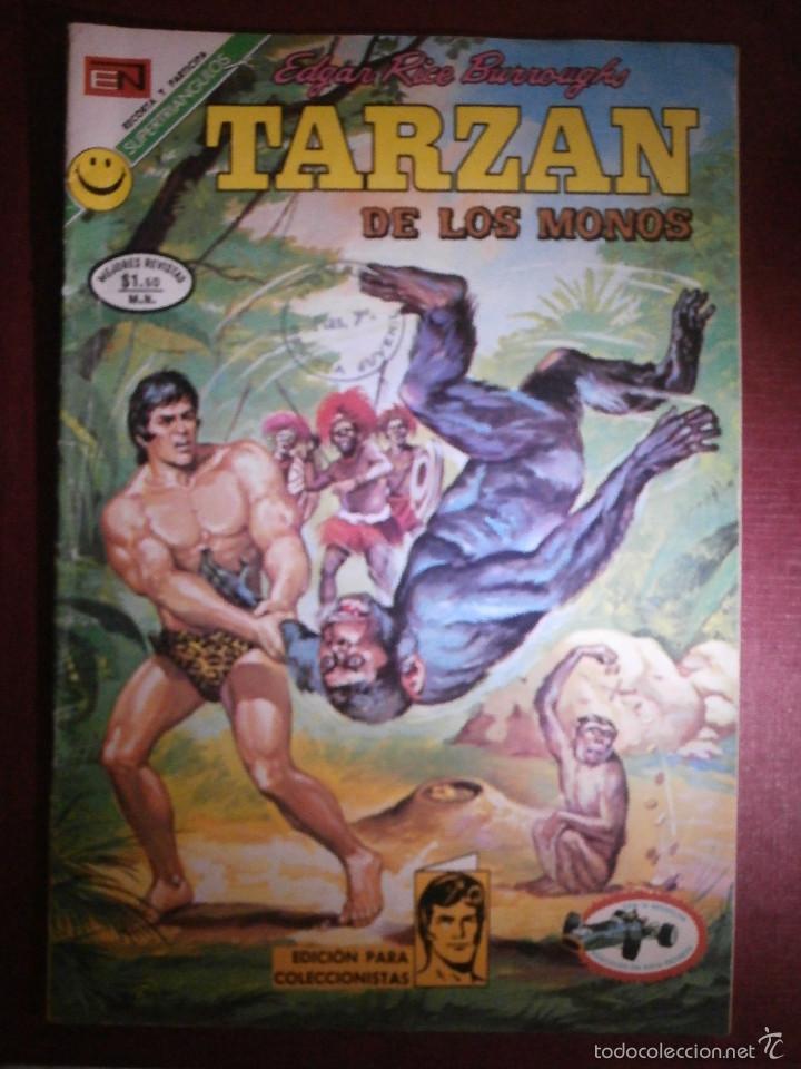 COMIC - TARZAN DE LOS MONOS - NUM 300 - NOVARO - 1972 (Tebeos y Comics - Novaro - Tarzán)