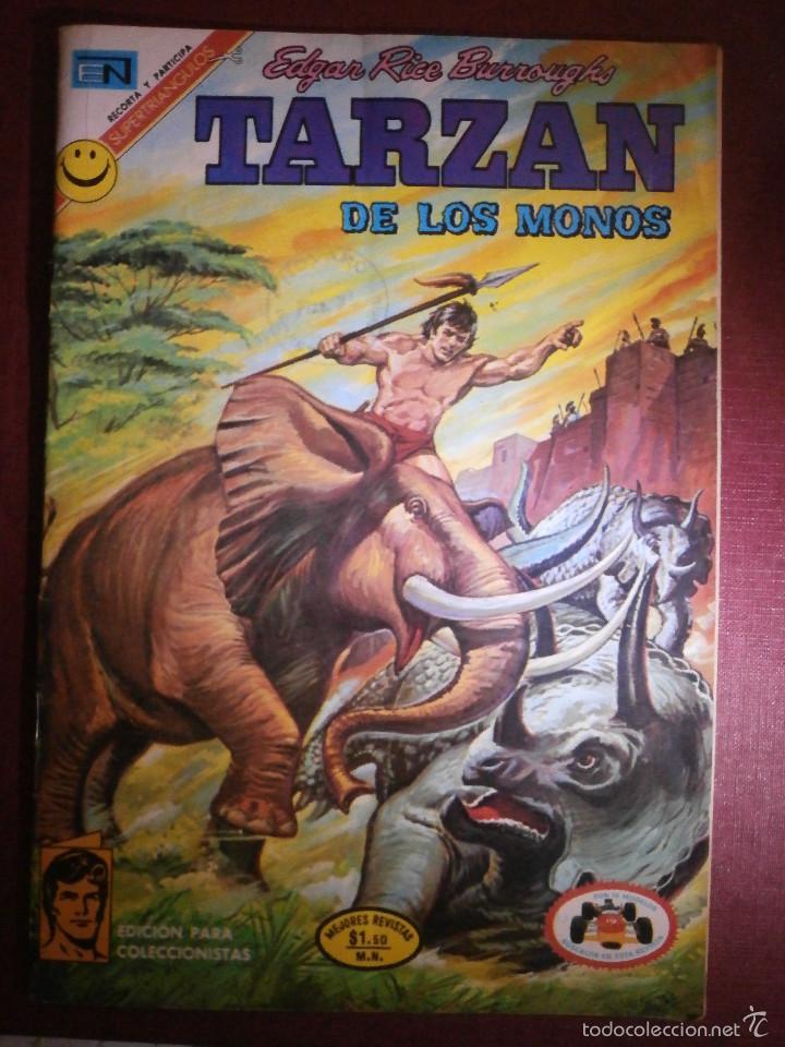 COMIC - TARZAN DE LOS MONOS - NUM 295 - NOVARO - 1972 (Tebeos y Comics - Novaro - Tarzán)