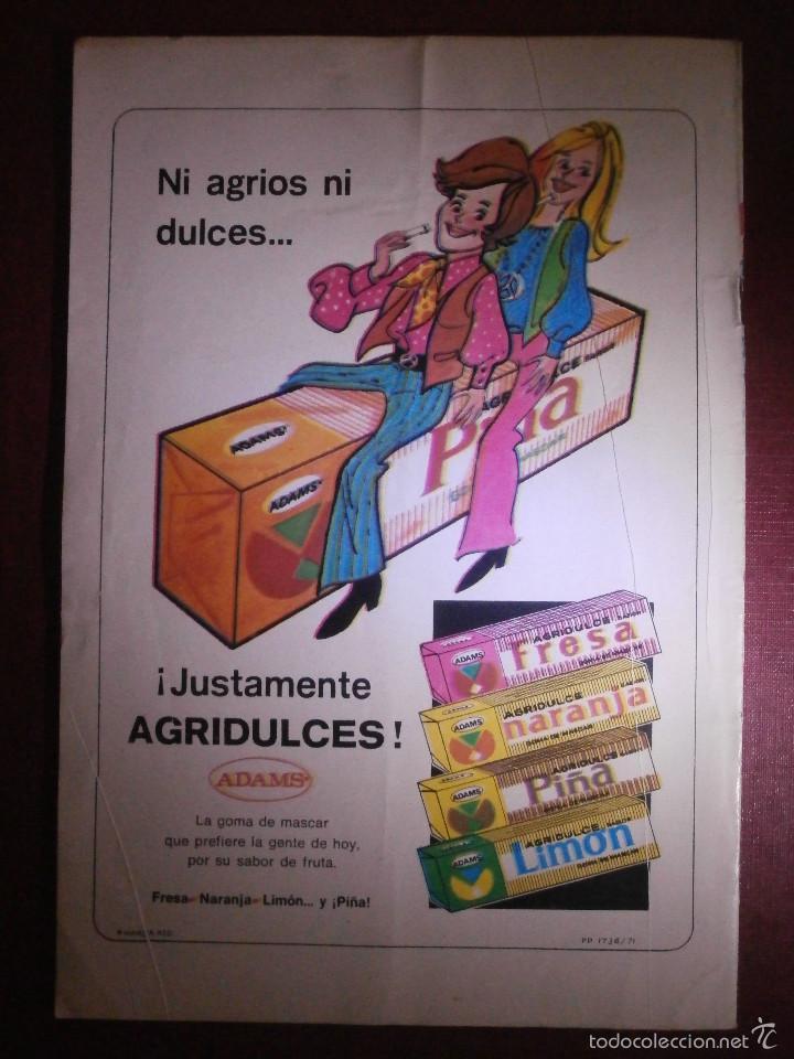 Tebeos: Comic - TARZAN DE LOS MONOS - NUM 295 - NOVARO - 1972 - Foto 2 - 56643516