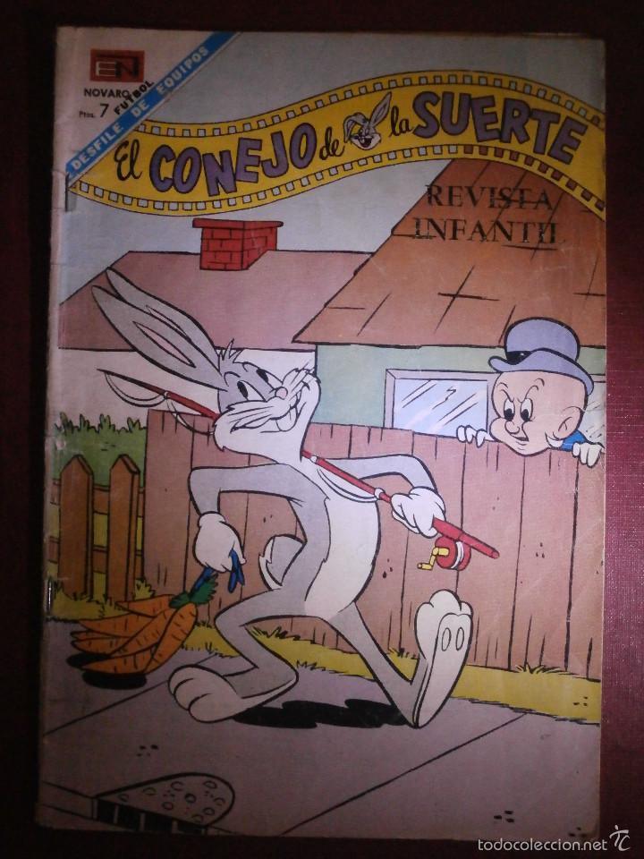 TEBEO - EL CONEJO DE LA SUERTE - Nº 287 - 1968 - NOVARO - (Tebeos y Comics - Novaro - El Conejo de la Suerte)