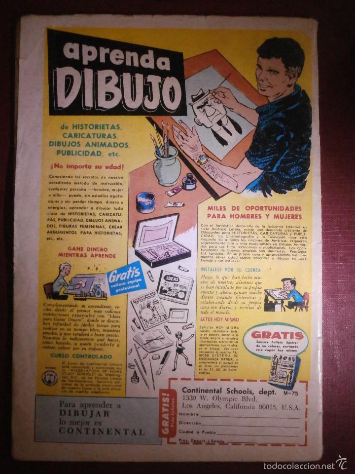 Tebeos: Tebeo - EL CONEJO DE LA SUERTE - Nº 287 - 1968 - NOVARO - - Foto 2 - 56643528