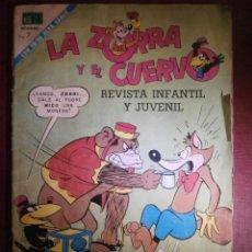 Tebeos: TEBEO - LA ZORRA Y EL CUERVO - Nº 265 - Nº ESPECIAL - NOVARO - 1971. Lote 56643543