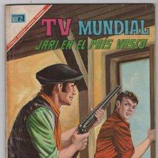 Tebeos: TV MUNDIAL NUMERO EXTRAORDINARIO JARI EN EL PAIS VASCO NOVARO 1967 EXCELENTE ESTADO 64 PAG. Lote 57049223