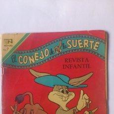 Tebeos: EL CONEJO DE LA SUERTE, Nº 335, EDITORIAL NOVARO, 1970. Lote 57207599