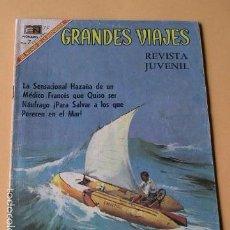 Tebeos: GRANDES VIAJES Nº 75, LA PELIGROSA AVENTURA DE BOMBARD, ED. NOVARO, AÑO 1969. Lote 57243198