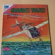 Tebeos: GRANDES VIAJES Nº 97, BLÉIROT SOBRE EL CANAL DE LA MANCHA, ED. NOVARO, AÑO 1971. Lote 57243202