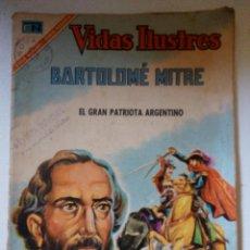 Tebeos: VIDAS ILUSTRES BARTOLOMÉ MITRE Nº158 AÑO 1967. Lote 57264487