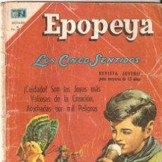 Livros de Banda Desenhada: LOS CINCO SENTIDOS. Nº114. NOVARO. 1967. VELL I BELL.. Lote 57277886