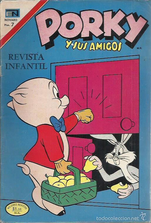 PORKY Y SUS AMIGOS (NOVARO) ORIGINAL LOTE (Tebeos y Comics - Novaro - Porky)