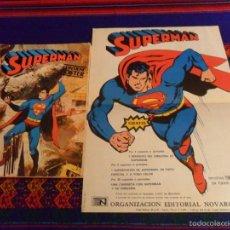 Tebeos: NOVARO LIBRO COMIC LIBROCOMIC SUPERMÁN Nº 48 XLVIII CON PÓSTER. 1979. REGALO 23 Y 37. MUY, MUY RARO.. Lote 57365167